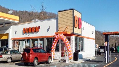 Broyles Hospitality LLC's next-gen Dunkin' in Erwin, Tenn.