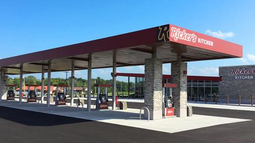A Ricker's convenience stores