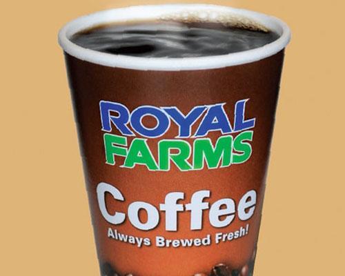 Royal Farms coffee