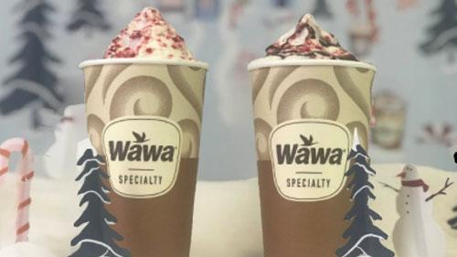 Wawa's Mint-er Wonderland drinks