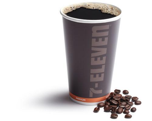 medium cup of 7-Eleven coffee