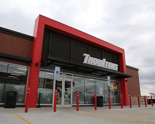 Thorntons storefront