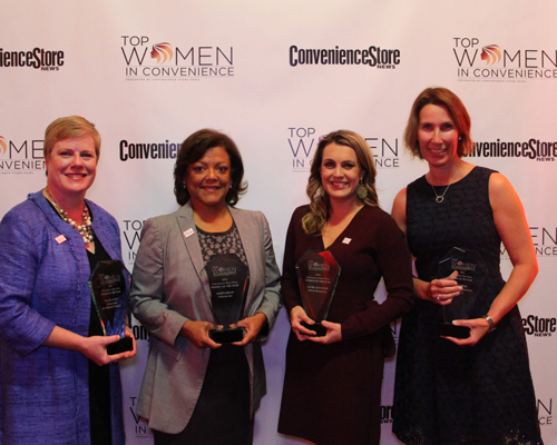 Four of the five 2018 TWIC Women of the Year