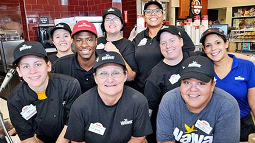 Wawa Inc. employees