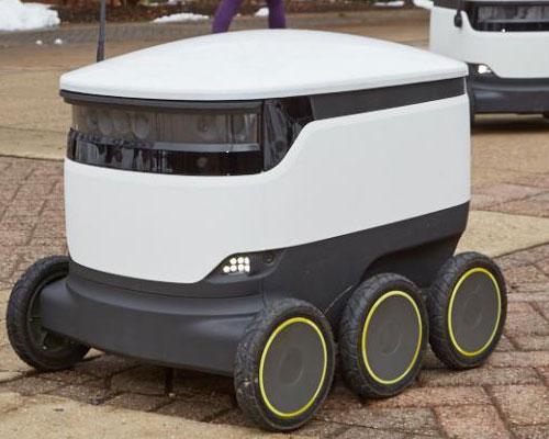 autonomous vehicles across campus