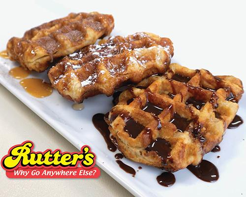 Rutter's waffles