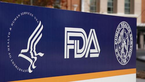 The FDA headquarters sign