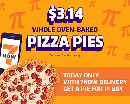 7-Eleven Pi Day Special