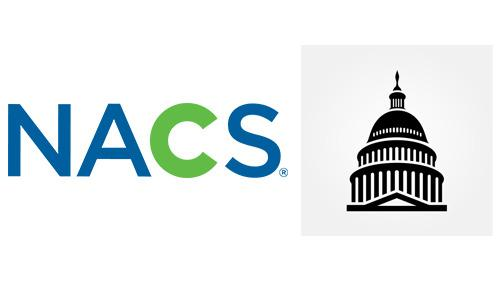 NACS logo and the U.S. Capitol