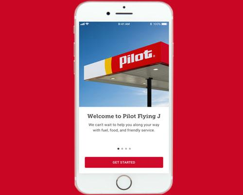 Pilot Flying J mobile app