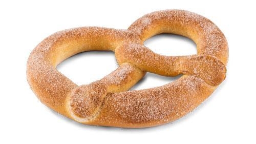 Cumberland Farms cinnamon sugar pretzel