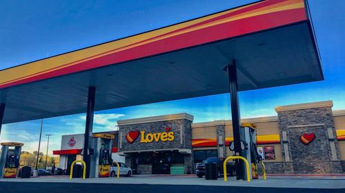Love's Travel Stops opens three new locations, including one in Toomsuba, Miss.