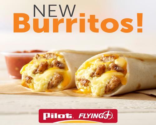 Pilot Flying J breakfast burrito