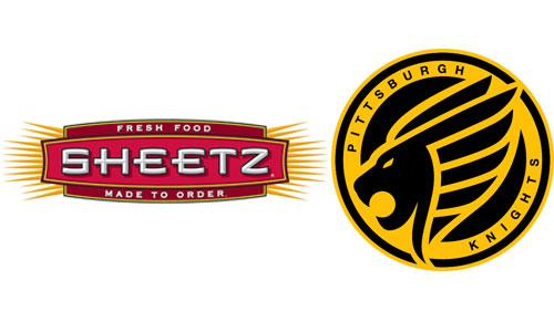 Sheetz & Pittsburgh Knights logo