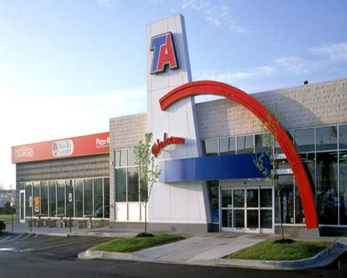 A TravelCenters of America TA location
