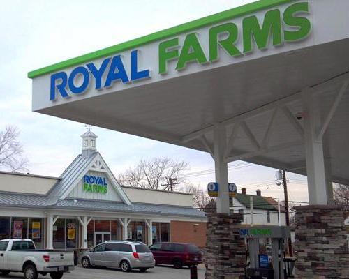 A Royal farms convenience store