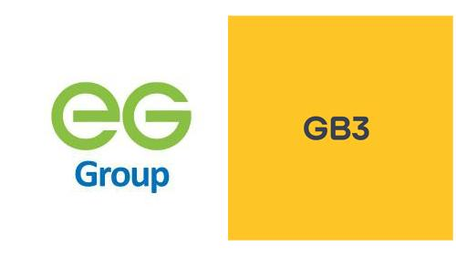 Logos for EG Group and GB3