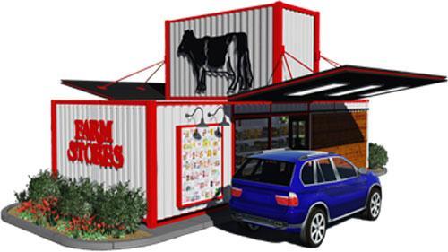 Farm Stores rendering