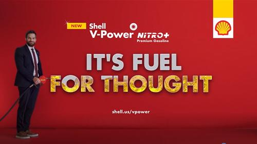 Advertisement for Shell V-Power NiTRO+