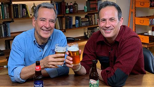 Jim Koch and Sam Calagione