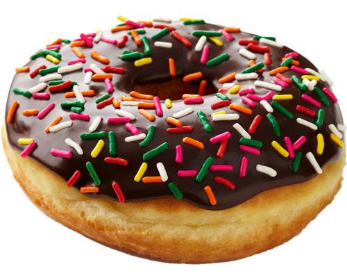 Cumberland Farms chocolate glazed doughnut