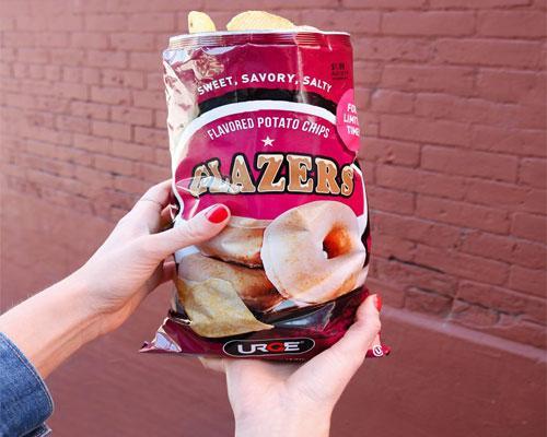 Kwik Trip Glazer doughnut chips
