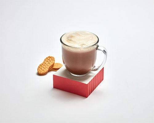 Nutter Butter latte at 7-Eleven