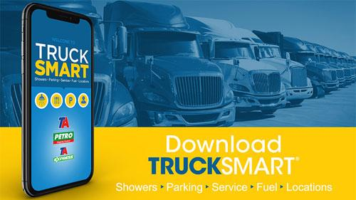 TA TruckSmart mobile app upgrades