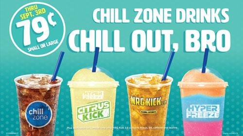 Cumberland Farms Chill Zone summer offer 2019