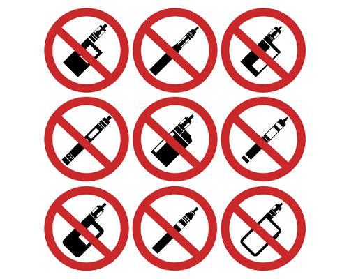 No vapor products