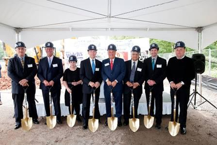 Promotion in Motion broke ground on its expanded facilities.