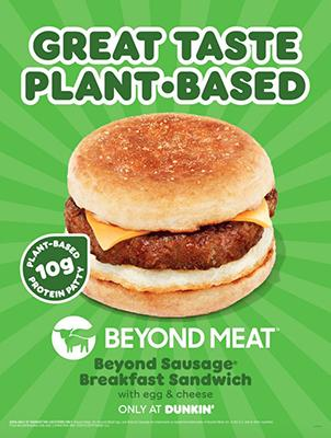 The Beyond Sausage Breakfast Sandwich