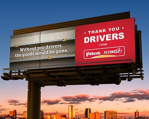 Thank a Driver initiative