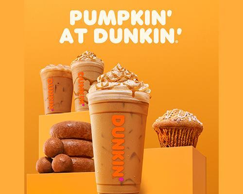 Dunkin' Donuts pumpkin spice