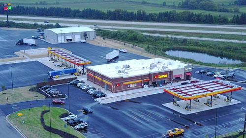 Love's Travel Stops & Country Stores new location in Elkhorn, Wis.