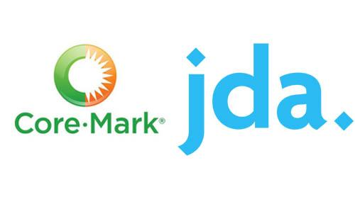Logos for Core-Mark and JDA Software
