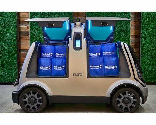 Walmart Autonomous Vehicle Delivery