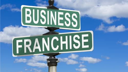 Business franchise signs