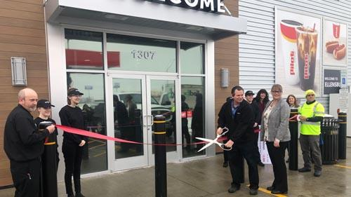 Pilot Co. cut the ribbon on a new Pilot Travel Center in Ellensburg, Wash.,