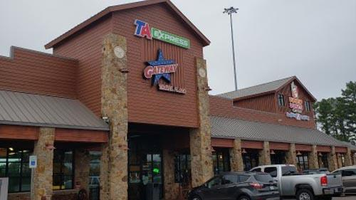 TravelCenters of America welcomed customers at a new TA Express in Kilgore, Texas