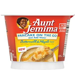 BREAKFAST AUNT JEMIMA PANCAKE ON THE GO PepsiCo