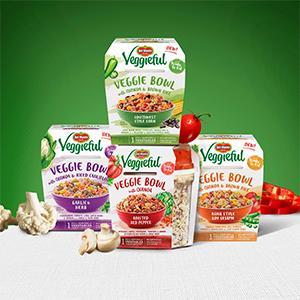 CONVENIENCE MEAL DEL MONTEVEGGIEFUL VEGGIE BOWLS Del Monte Foods, Inc.