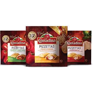 FROZEN SNACK CONTADINA PIZZETTAS Del Monte Foods, Inc.
