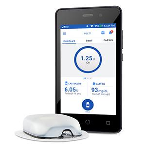HEALTH SYSTEMS OMNIPOD DASH INSULIN MANAGEMENT SYSTEM Insulet Corporation
