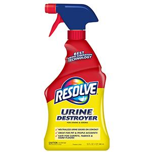 PET CLEANING RESOLVE URINE DESTROYER RB
