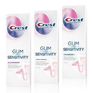 TOOTHPASTE CREST GUM & SENSITIVITY Procter & Gamble