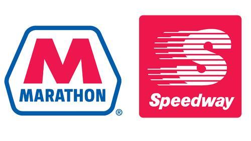logos for Marathon Petroleum and Speedway LLC