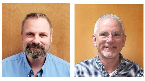 Lee Beckman (left) and Joe Rosso take on new roles at Beck Suppliers Inc.