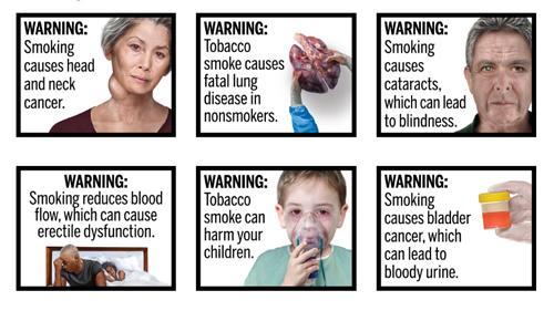 FDA's cigarette warnings