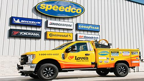 Love's Speedco site
